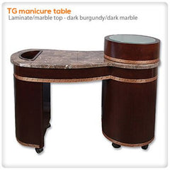 Manicure Nail Tables - TG Manicure Table