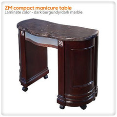 Manicure Nail Tables - ZM Compact Manicure Table