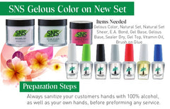 Nail Polish - SNS HEALTHY NAILS