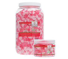 Pedi Salts / Pedi Rocks - Bath Flowers Mid Summer Rose