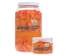 Pedi Salts / Pedi Rocks - Bath Flowers Orange Tangerine Zest