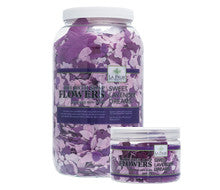 Pedi Salts / Pedi Rocks - Bath Flowers Sweet Lavender Dreams