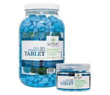 Pedi Salts / Pedi Rocks - Sea Spa Tablet Spearmint Eucalyptus Therapy