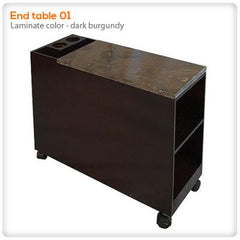 Pedicure Carts - AYC - Table End 01- Accessory Cart