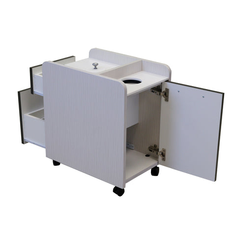 LNS - AC455 Pedicure Cart - With Surface