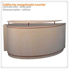 Reception Desks - California Receptionist Counter
