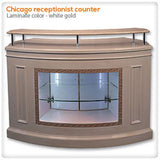 Chicago Receptionist Counter