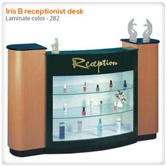 Reception Desks - Iris B Receptionist Desk