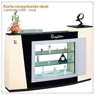 Karla receptionist desk