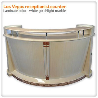 Las Vegas Receptionist Counter