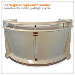 Reception Desks - Las Vegas Receptionist Counter