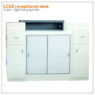 LCS2 receptionist desk