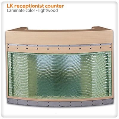 LK Receptionist Counter