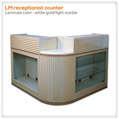Reception Desks - LM Receptionist Counter