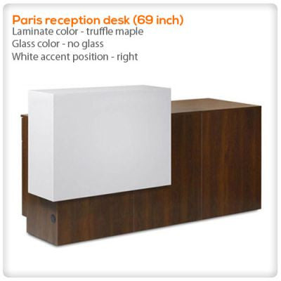 Paris reception desk (69 inch)
