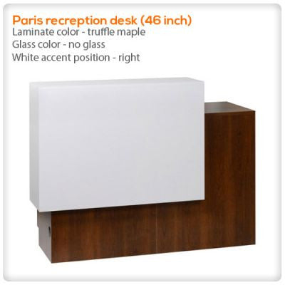 Paris recreption desk (46 inch)