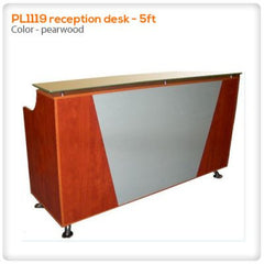 Reception Desks - PL1119 Reception Desk - 5ft