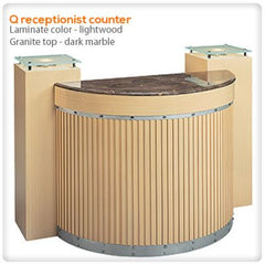 Reception Desks - Q Receptionist Counter