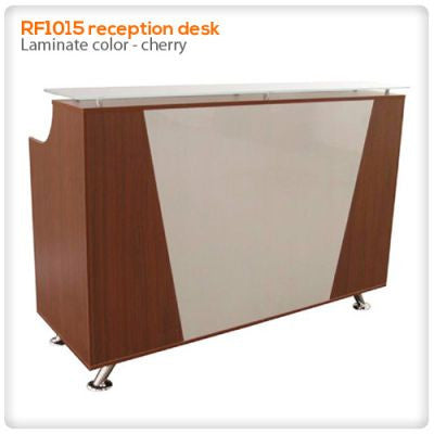 RF1015 reception desk - 4ft