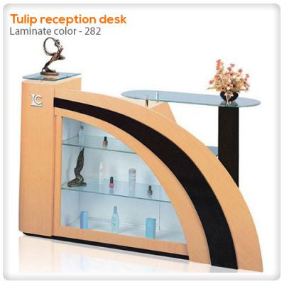 Tulip reception desk