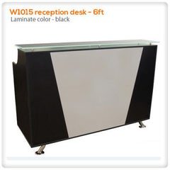 Reception Desks - W1015 Reception Desk - 6ft