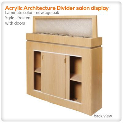 Acrylic Architecture Divider salon display