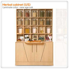 Retail Displays - Herbal Cabinet