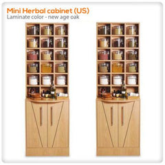 Retail Displays - Mini Herbal Cabinet