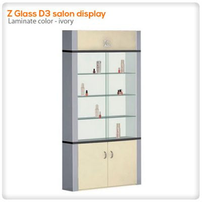 Z Glass D3 salon display