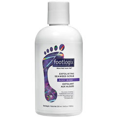 Scrub Gels / Cooling Gels - Footlogix Exfoliating Seaweed Scrub Body Wash #15 - 8.45 Oz.