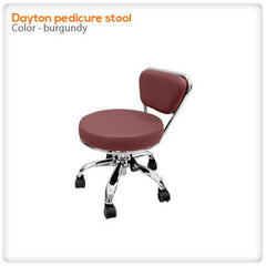Staff/Customer Chairs - Dayton Pedicure Stool