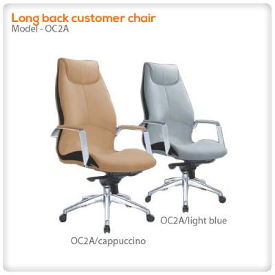 Long back customer chair