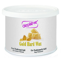 Wax - Depileve European Gold Hard Wax 14 Oz.