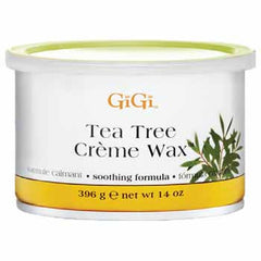 Wax - Gigi Tea Tree Creme Wax 14oz