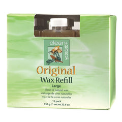 Waxing - Clean+Easy Original Wax Refills Large 12-pk.