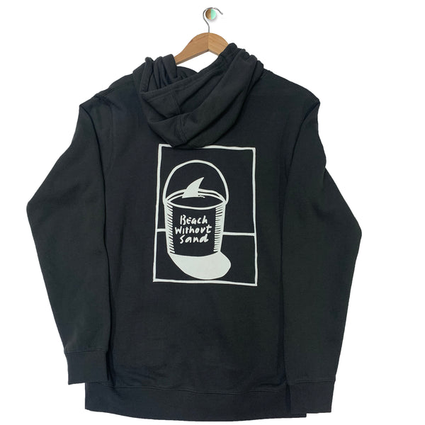 BEACH WITHOUT SAND BWS MENS HOODY BWSMHF