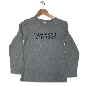 PALM BEACH SURFING CO PBSC BOYS LONG SLEEVE TEE PBSCBLS