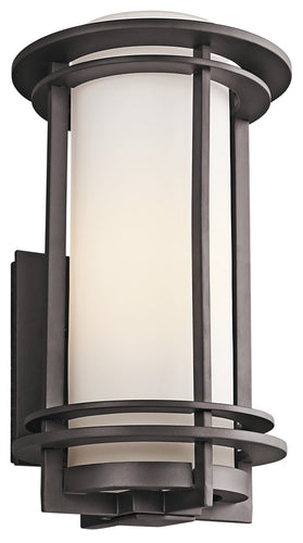 Kichler One Light Outdoor Wall Mount 49346AZ-Exterior-HomePlumbing
