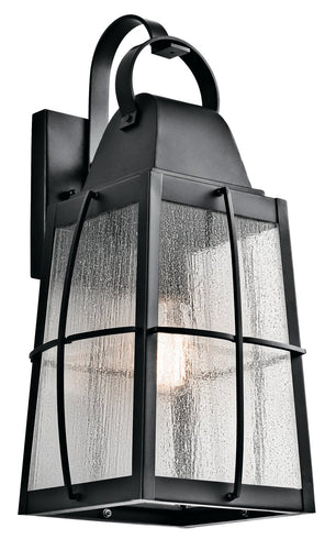 Kichler One Light Outdoor Wall Mount 49554BKT-Exterior-HomePlumbing