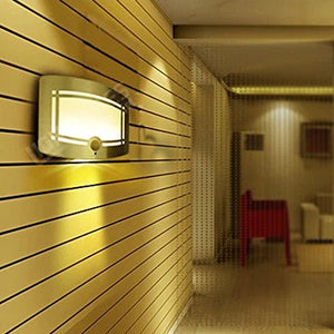 LED Motion Activated Sconce Wall Light