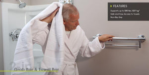 Designer Towel Bar Grab Bar