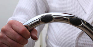 Chrome Safety Grab Bar Ring