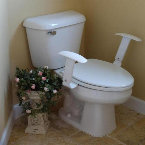 Comfort Arms Grab Bar Armrests For The Toilet