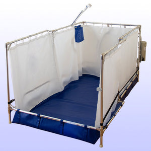 Fold Away Wheelchair Shower - Recliner