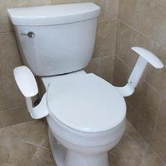Comfort Arms -  Armrests for the Toilet