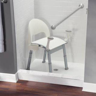 Glacier Premium Shower Chair Essential Luxuries By