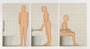 Ergonomics of grab bar