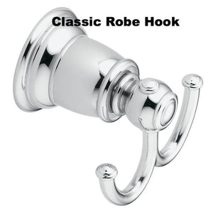 Classic Designer Grab Bars Brushed Nickel