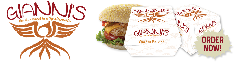 Gianni's Chicken Burgers