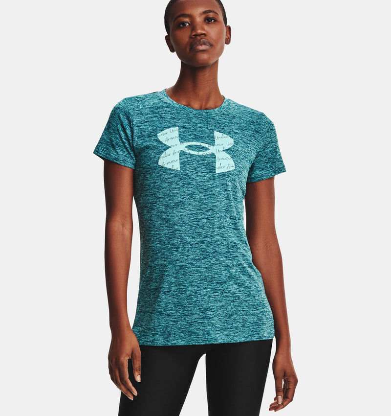 UNDER ARMOUR T-SHIRT TECH SHORT SLEEVE - FEMME